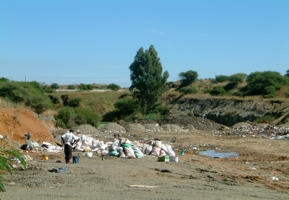 Mooinooi Landfill Site before Rehabilitation
