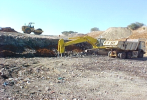 Excavation and Hauling of Material
